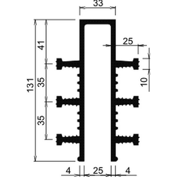 Гидрошпонка EPDM Аквастоп ДЗ-130/25-6/25