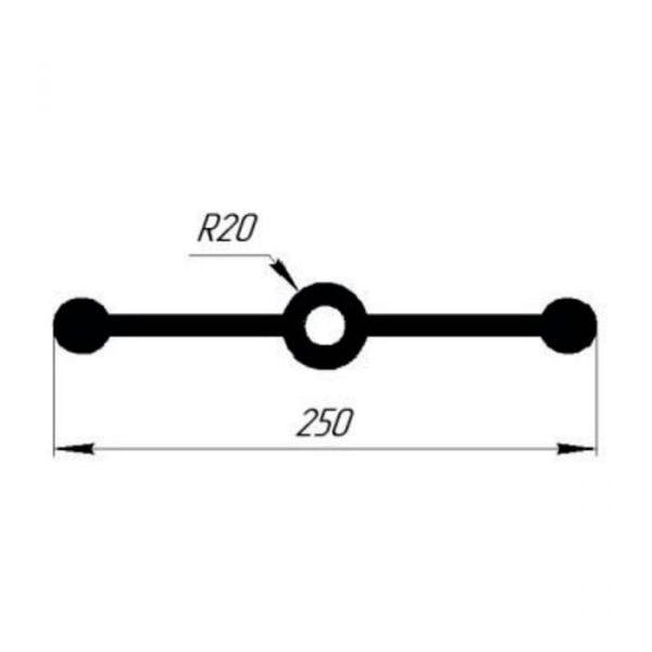 Гидрошпонка EPDM Гидроконтур ЦДР-250/10