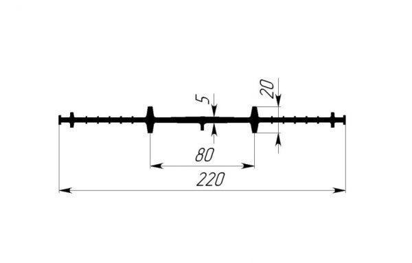 Gidroshponka EPDM Gidrokontur CR-220R
