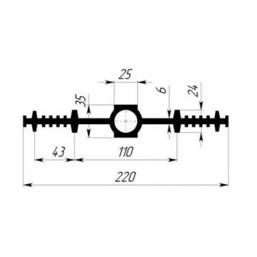 Гидрошпонка EPDM Гидроконтур ЦДР-220К25