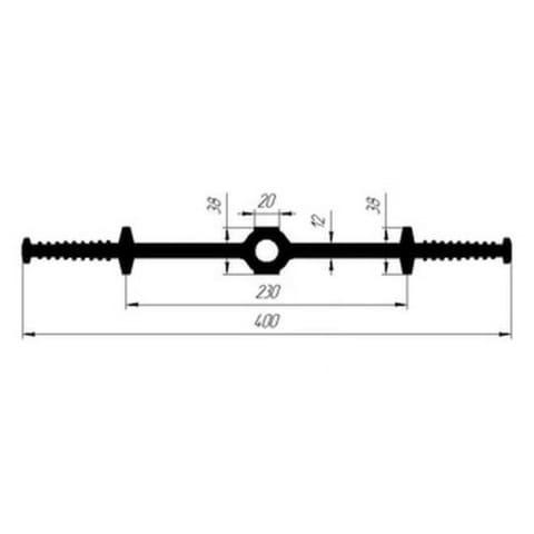 Гидрошпонка EPDM Гидроконтур ЦДР-400/12