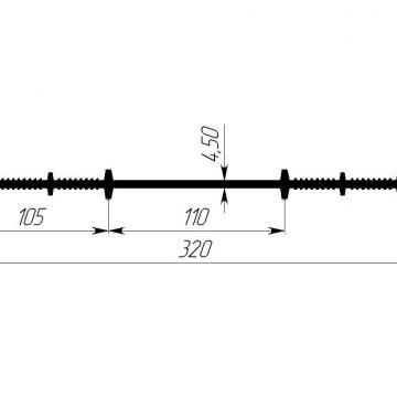 Гидрошпонка ПВХ Гидроконтур ЦР-320П
