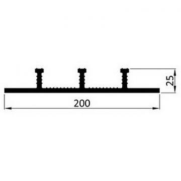 Гидрошпонка ПВХ Icopal ХН-Б 200/25