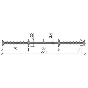 Гидрошпонка ПВХ-П Аквастоп ХВ-220