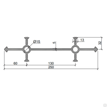 Гидрошпонка ПВХ-П Аквастоп УВ 250-4/30