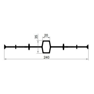Гидрошпонка ПВХ Технониколь IM-240/20