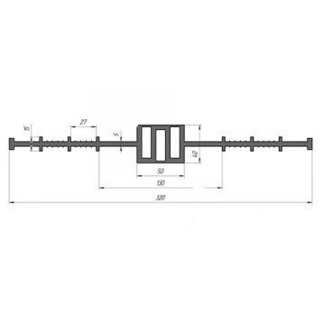 Гидрошпонка ПВХ Гидроконтур ЦД-320К50