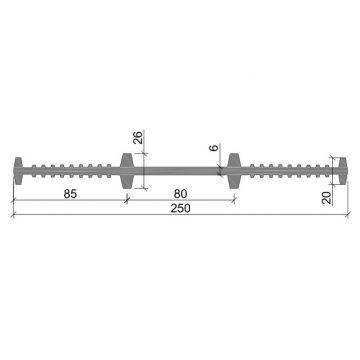Гидрошпонка ТЭП Аквастоп ХВ-250 (6)